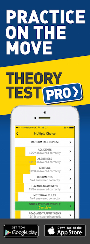 Theory Test Pro in partnership with K.S.Driver Training
